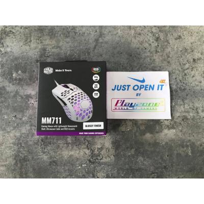 Chuột Cooler Master MM710 MATTE WHITE
