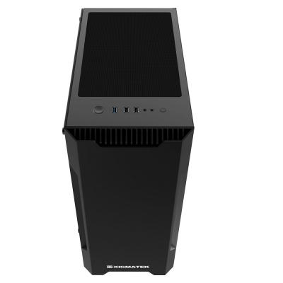 XIGMATEK NEMESIS BLACK (EN42180) - ATX - No Fan
