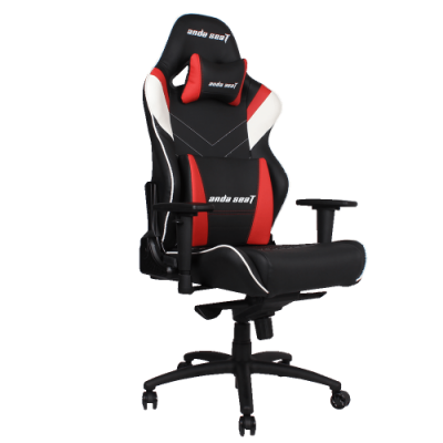 Ghế Anda Seat Assassin King - Black/ White/ Red