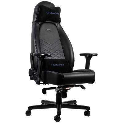 Ghế Gaming Noble Chair - Icon Series Black/Blue