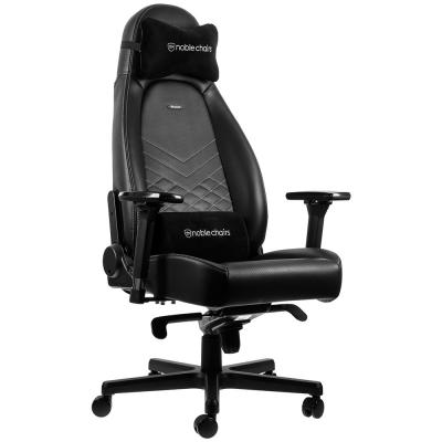 Ghế Gaming Noble Chair - Icon Series Black/Platinum White