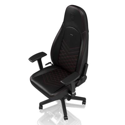 Ghế Gaming Noble Chair - Icon Series Black/Red